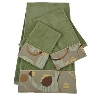 Sherry Kline Encircle Embellished 3-piece Towel Set