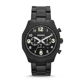 Fossil Men's Foreman Analog Black Watch