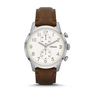 Fossil Men's FS4872 Townsman Analog Brown Watch