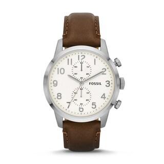 Fossil Men's Townsman Analog Brown Watch