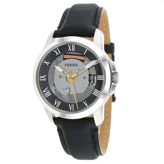 Fossil Men's FS4869 Grant Three-Hand Leather Watch