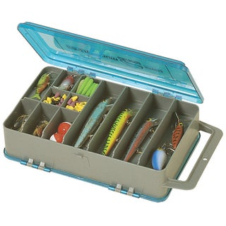 Plano minima side kick double sided tackle box free for Overstock furniture and mattress plano