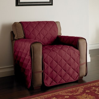 Innovative Textile Solutions Microfiber Ultimate Chair Furniture Protector (Burgundy)