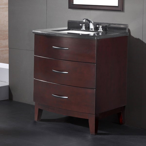 Shop OVE Decors Tobo 30-inch Single Sink Bathroom Vanity ...
