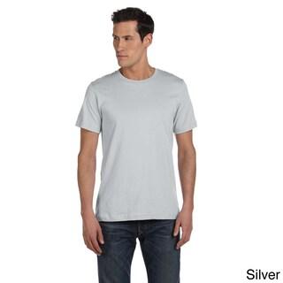 Bella Men's Ringspun Cotton Jersey T-shirt (More options available)