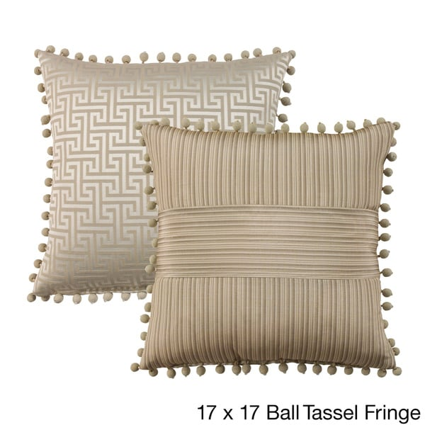 Wingate Reversible Decorative Pillow- Multiple Options