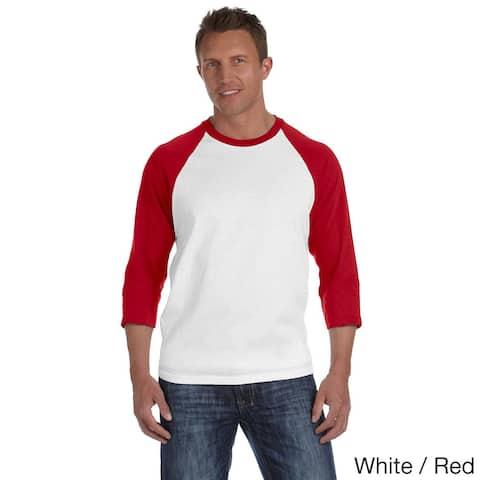 Anvil Men's Baseball T-Shirt