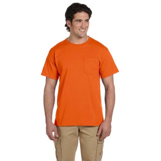 Jerzees Men's 50/50 Heavyweight Blend Pocket T-Shirt (More options available)