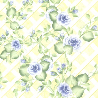 Venus Blue Peony Trail Wallpaper