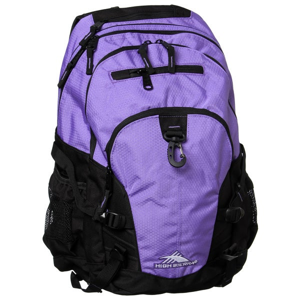 High Sierra Lilac Night /Black Loop Daypack