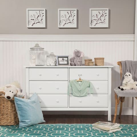 DaVinci Jayden 6-drawer Double Wide Dresser