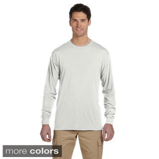 Jerzees Men's 100-percent Polyester Long-Sleeve T-Shirt (More options available)