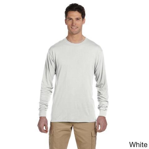 Jerzees Men's 100-percent Polyester Long-Sleeve T-Shirt