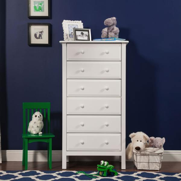 Shop Davinci Jayden 6 Drawer Tall Dresser Free Shipping