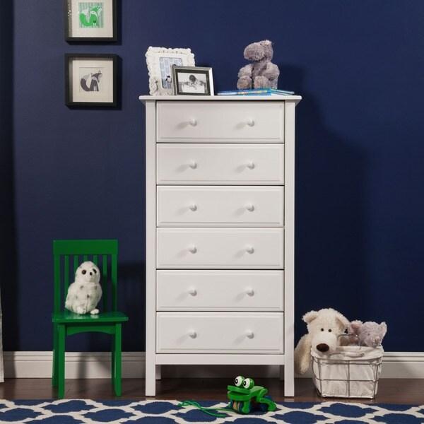 davinci jayden 6 drawer tall dresser free shipping today 16142465. Black Bedroom Furniture Sets. Home Design Ideas