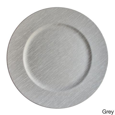 Buy Charger Plates Online at Overstock.com | Our Best Dinnerware Deals