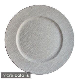 13-inch Textured Charger Plate (2 options available)