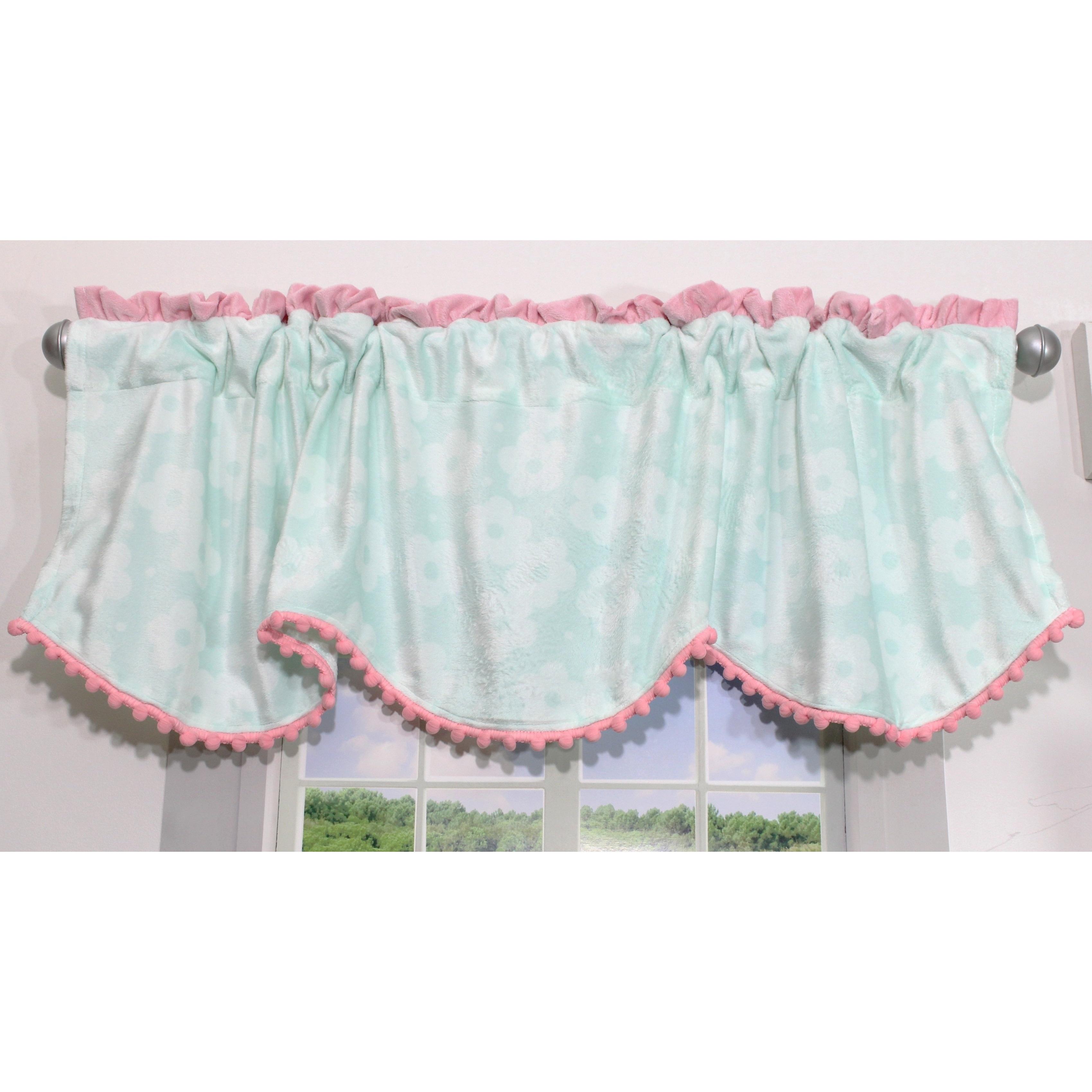 Nurture Imagination Wings Nursery Window Curtain Valance ...