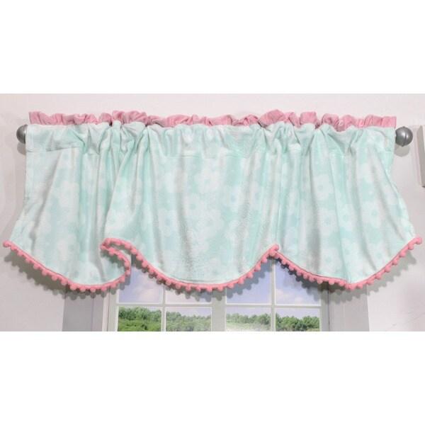 Nurture Imagination Wings Nursery Window Curtain Valance