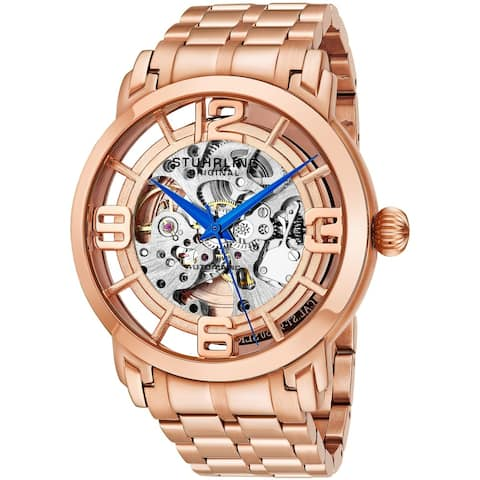 Stuhrling Original Men's Winchester 44 Elite Automatic Bracelet Watch