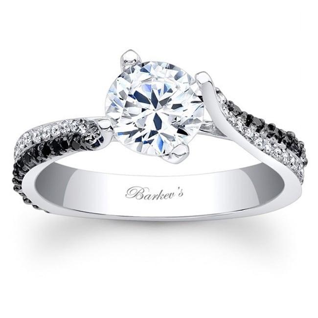 Barkev's Designer 14k Gold 3/4ct TDW Black/ White Diamond...