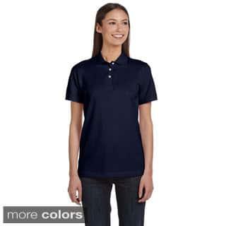 Anvil Women's Ringspun Pique Polo|https://ak1.ostkcdn.com/images/products/8926735/Anvil-Womens-Ringspun-Pique-Polo-P16142612.jpg?impolicy=medium