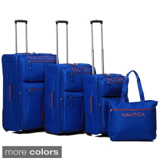 Nautica Maritime 2 4-piece Rolling Luggage Set