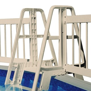 Taupe Pool Ladder/ Step to Fence Connector Kit