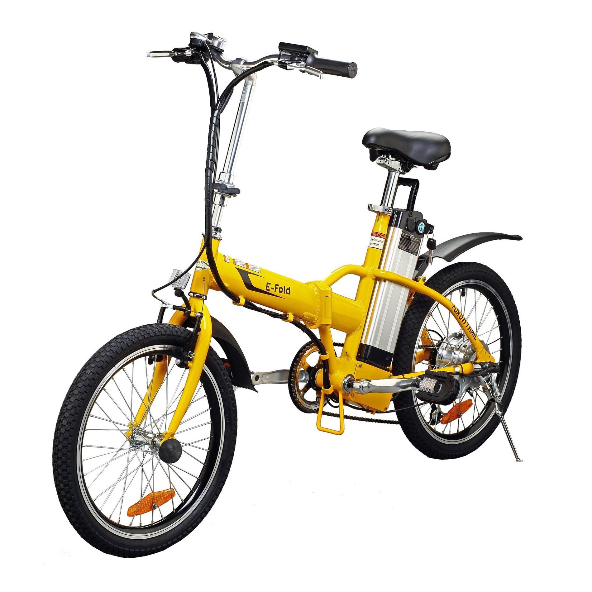 Yukon Trail Folding Electric Bike (Folding Electric Bike)...