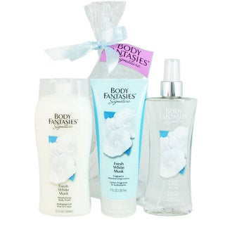 Body Fantasies Fresh White Musk 3-piece Set