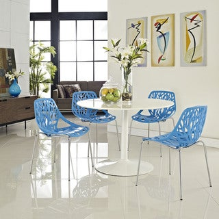 Stencil Blue Dining Chair (Set of 4)