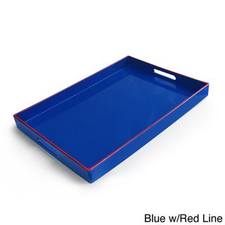 Rectangular Serving Tray with Handles (19 x 14 inches)