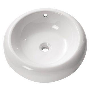 Avanity Round Above Counter 19.7-inch Sink