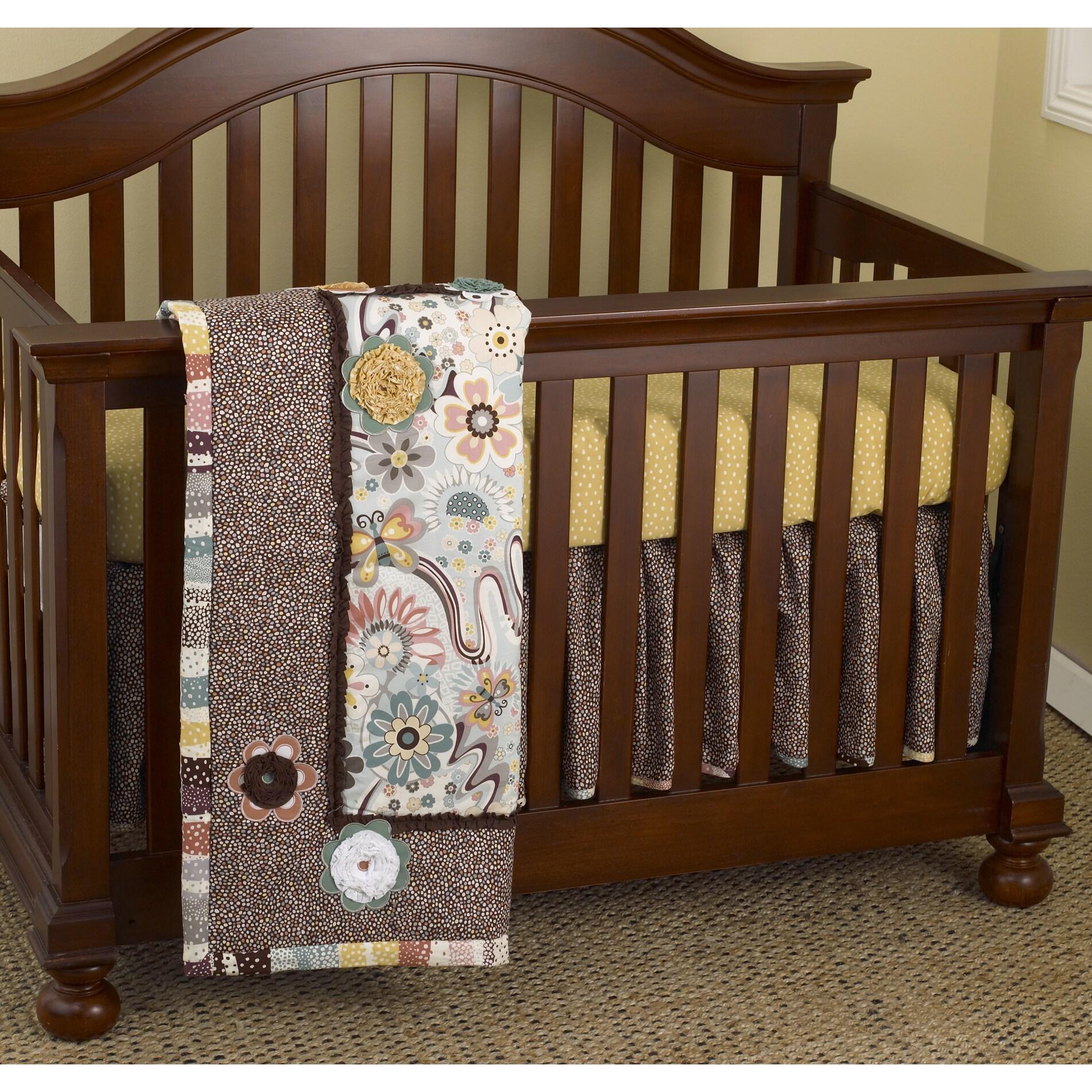 Cotton Tale Penny Lane 7-piece Crib Bedding Set (Cotton T...