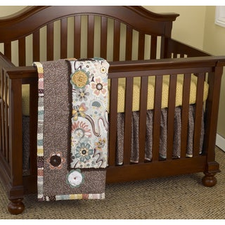 Cotton Tale Penny Lane 7-piece Crib Bedding Set