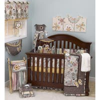 Cotton Tale Penny Lane 8-piece Crib Bedding Set