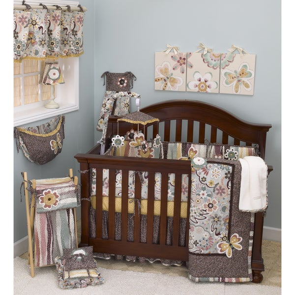 Cotton Tale Penny Lane 8 Piece Crib Bedding Set