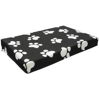 GoPetClub Black/White Orthopedic Memory Foam Pet Bed|https://ak1.ostkcdn.com/images/products/8928003/P16143575.jpg?impolicy=medium