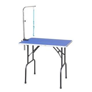 Go Pet Club Blue Pet Grooming Table
