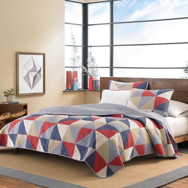 Eddie Bauer Chelan Cotton Reversible 3-piece Quilt Set