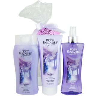 Body Fantasies Women's Twilight Mist 3-piece Set