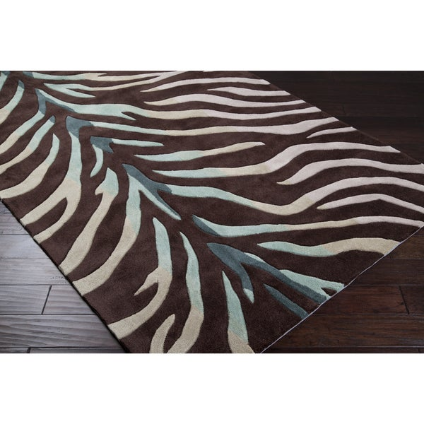 Hand-Tufted Holland Contemporary Animal Area Rug - 9' x 13'