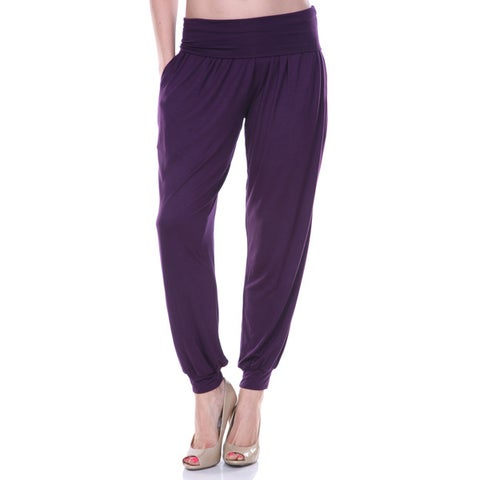 White Mark Women's Jogger Pants