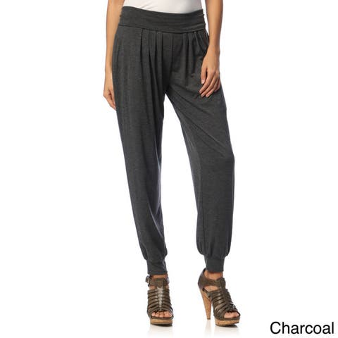 White Mark Women's Harem Pants