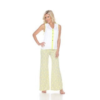 White Mark Summer Time Women's Palazzo Pants