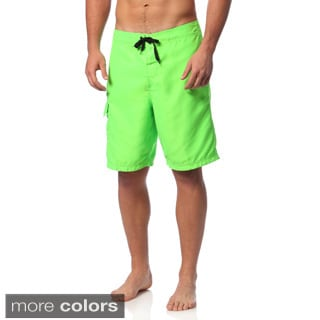 Burnside Men's Solid Board Shorts