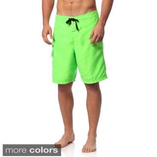Burnside Men's Solid Board Shorts (Option: 34)