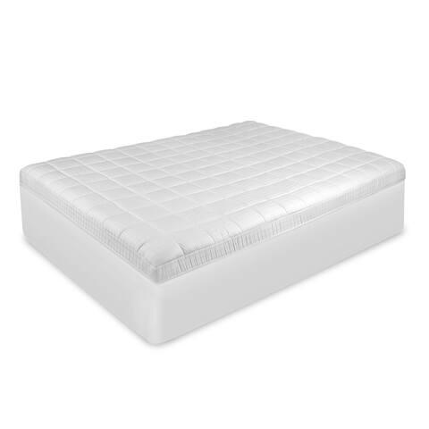 SwissLux Antimicrobial Mattress Pad