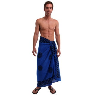 1 World Sarongs Men's Interlace Knotwork Celtic Sarong (Indonesia)