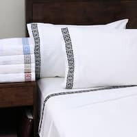 Superior Embroidered Deep Pocket Kendell Cotton Sheet Set